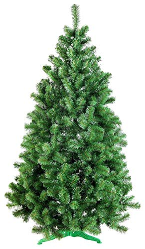 DecoKing Weihnachtsbaum Künstlich 180 cm grün Tannenbaum Christbaum Tanne Lena Weihnachtsdeko