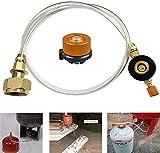 YOUNG4 Adaptateur de recharge pour réchaud à gaz...