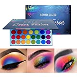 Beauty Glazed High Pigmented Makeup Palette Easy to Blend Color Fusion 39 Shades Metallic and Shimmers Eyeshadow Sweatproof and Waterproof Eye Shadows