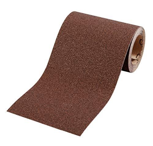 kwb Schleifpapier auf Rolle - Schleifpapier-Rolle 5 m für Metall, Holz, Lack 115 mm, Korn K-120
