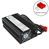 58.8V 10A Charger 51.8V Lithium ion Battery Charger for ebike Balance EV Battery Charger 14S 51.8V Li-ion Battery (58.8V10A Anderson)