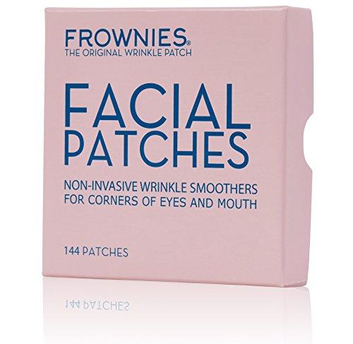Frownies, Parches Faciales Antiarrugas Para Patas De Gallo y Arruga Nasogeniana CEM, 144 parches