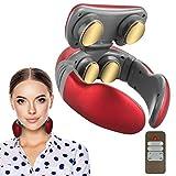 Komake masseur cervical, massage intelligent du cou avec chaleur, impulsions de...