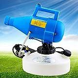 SHENXX Garden Sprayer Pressure Sprayer, Agricultural Electric Sprayer, 4.5L Portable Electric Sprayer Mist Mist Insect Disinfection Anti-Epidemic Atomizer Aerosol Sprayer,Blue