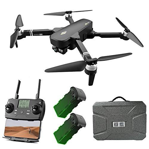 ZHCJH Drone GPS con Fotocamera UHD 6K e Giunto cardanico stabilizzante a 2 Assi, Quadricottero RC con Video Live FPV WiFi a 5 GHz, Motore Senza spazzole, Distanza RC 2000M, Tempo di Volo 28 Minuti
