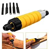 Woodworking Carving Chisel Electric Carving Machine Tool with 5 Carving Blades by ICEhm-13