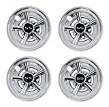 Nokins Golf Cart SS Wheel Covers Hub Caps for Most Golf Carts 8...
