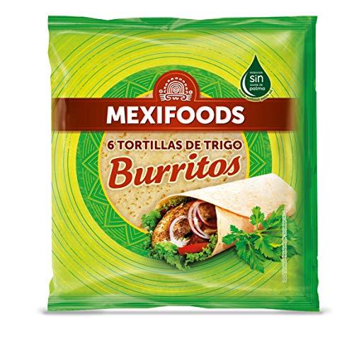 Mexifoods - Tortillas de trigo envasado, 370 gr, 1 paquete c
