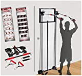 200LB Tower Strength Training Door Gym Full Body Workouts Fitness Exercise Exercise & Fitness,Resistance Bands