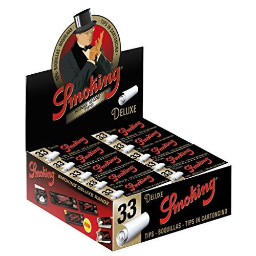 Smoking Cartón filtros Fumar Ancho x 50