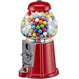 Wahou 25-1271R Distributeur de chewing-gum rétro Tirelire Rouge et...