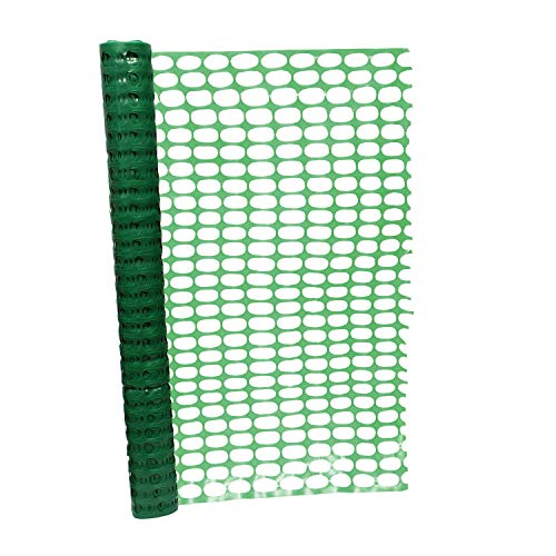 BISupply 4 FT Safety Fence – 100 FT Plastic Fencing Roll for...