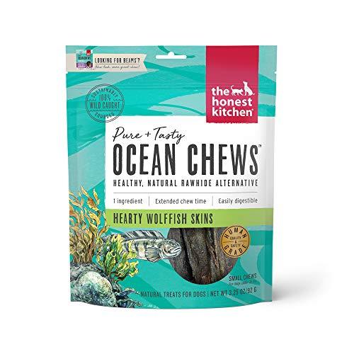 The Honest Kitchen Wolffish Ocean Chews Grain Free...
