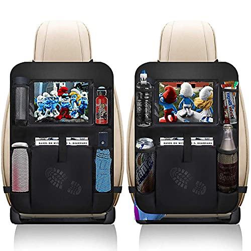 9. XBRN 2-Pack Car Protector Kick Mats Seat Covers