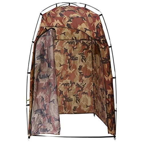 vidaXL Tente de Vestiaire WC Cabine de Douche Tente de Camping Toilette...