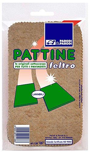 Pattine, pattine feltro per pavimento misura unica, pattine per pavimento lavabili, pattine comode e...