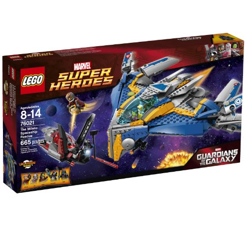 LEGO Superheroes The Milano Spaceship Rescue Building Set 76021 (Discontinued by manufacturer)