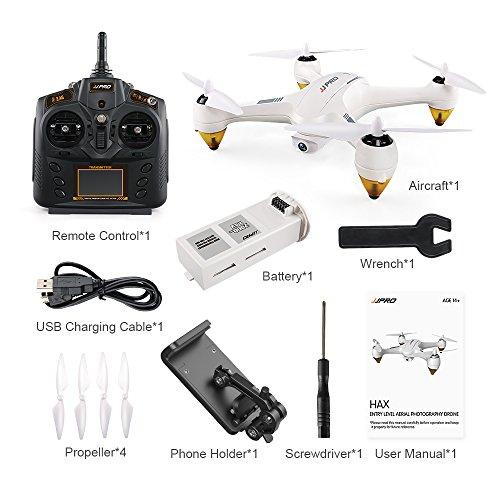DishyKooker J-JRC JJ-PRO X3 HAX RC Quadricottero Drone Dual Mode WiFi FPV GPS RC Giocattolo Drone con Fotocamera HD 1080 P Brushless RTF