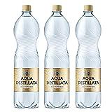 Eau distillée 4,5 L (3 bouteilles x 1,5 L) 100% pure vapeur d'eau...