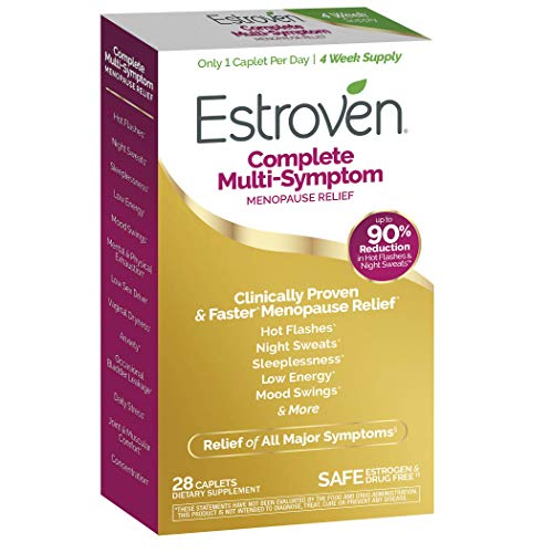 Estroven Complete Menopause Relief | All-In-One Menopause Relief* | Safe and Effective | Reduce Multiple Menopause Symptoms*1 | Reduces Hot Flashes and Night Sweats* | One Per Day | 28 Count 10