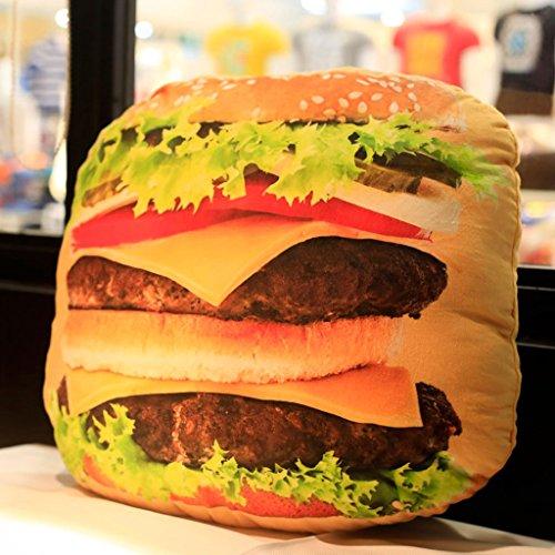CHENGYI Cuscino del Divano del Comodino dell'ufficio del Cuscino del commestibile dell'hamburger di...