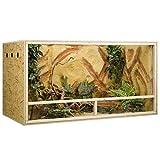 Concept de bois OSB Terrarium 150 x 80 x 80 cm ventilation...