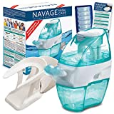 Navage Nasal Hygiene Essentials Bundle: Navage Nose Cleaner, 38 SaltPod Capsules, and Countertop Caddy. 126.90 if Purchased Separately, You Save 26.95. for Improved Nasal Hygiene.