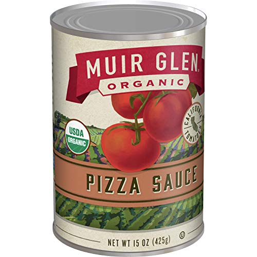 Muir Glen Organic Pizza Sauce, No Sugar Added