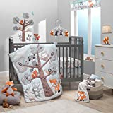 Bedtime Originals Woodland Friends 3Piece Crib Bedding Set, Multicolor