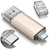 THKAILAR 64 Go 128 Go 256 Go 512 Go Clé USB USB-C haute vitesse pour...