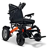 500W Motor 20' Seat Power Wheel Chair - Foldable All Terrain Electric Wheelchairs Airline Approved Portable Compact Folding Motorized Lightweight Mobility Aid Power Scooter