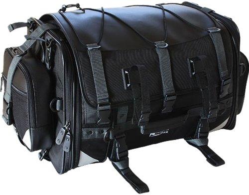 タナックス(TANAX) キャンピングシートバッグ2 モトフィズ(MOTOFIZZ) ブラック MFK-102 (可変容量59-75ℓ)