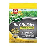 Scotts 25006A 5M Turf Builder Weed Feed, 5,000 sq. ft