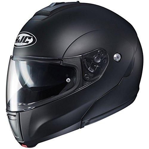 HJC Helmets Solid Men's CL-MAX 3 Modular Street Motorcycle Helmet - Semi Flat Black / 2X-Large