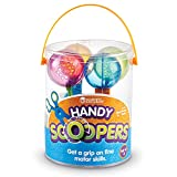FINE MOTOR TOOL: These uniquely designed scoopers allow children to use their thumb, index, and middle fingers to open. Build the muscles needed for scissor cutting and writing SENSORY TOY: Holes in scoops allow for catch-and-release fun during water...