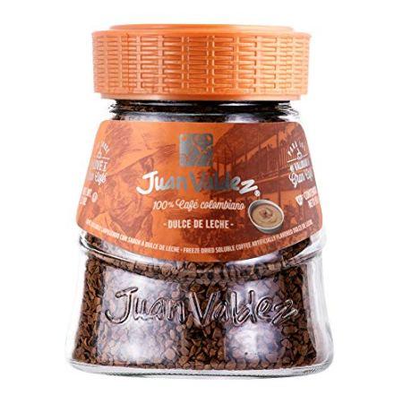 Juan Valdez® Gefriergetrockneter Kaffee mit Karamell, 95g