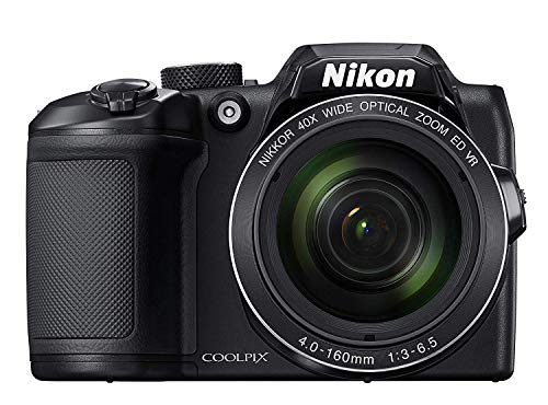 Nikon Coolpix B500 Fotocamera Digitale Compatta, 16 Megapixel, Zoom 40X, VR, LCD Inclinabile 3', FULL HD, Bluetooth, Wi-Fi, Nero