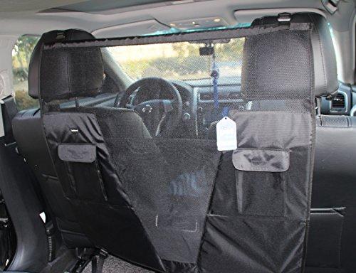 SCENEREAL Pet Dog Net Vehicle Barriers - Backseat...