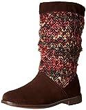 TOMS Serra Boot Dark Brown Sueda Textile 10006223 Womens 10