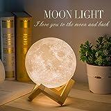 Mydethun Moon Lamp Moon Light Night Light for Kids Gift for Women USB...