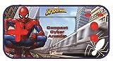 LEXIBOOK- Marvel Spider-Man Compact Cyber Arcade Consola porttil, 150 Juegos, LCD, con Pilas, Azul, Color (China)