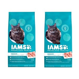 IAMS PROACTIVE HEALTH INDOOR WEIGHT and HAIRBALL CARE Dry Cat Food 7 Pounds