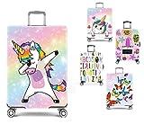 Funda protectora elástica para maleta Travelfit. Duradera, lavable, con cremallera. La elegante y adecuada funda para tu equipaje.