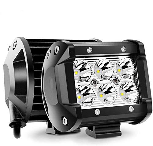 18W CREE製 作業灯 LED ワークライトGREENBEAN 狭角タイプ 30度 フラッドライト 6発 12V-24V対応 汎用 車外...