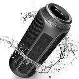 Enceinte Bluetooth Portable, Zamkol Bluetooth 5.0 Enceinte sans Fil, 10...