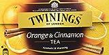 Twinings Of London Té Orange & Cinnamon - 4 Paquete de 25 Bolsitas