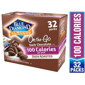 Blue Diamond Almonds Oven Roasted Dark Chocolate Flavored Snack Nuts, 100 Calorie Packs, 32 Count 7