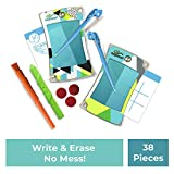 Boogie Board Jot 4.5 LCD Writing Tablet + Electronic Paper 4.5 inch Screen Replaces Scratch Pads and Sticky Notes eWriter (Blue (2 Pack))