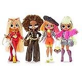 L.O.L. Surprise! 422020 O.M.G. Lot de 4 poupées O.M.G. Fashion Dolls de la série 1 avec vêtements et Nombreux Accessoires au Total Plus de 80 Surprises