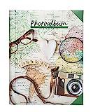 Album photo - 24x32cm 30 pages adhésives - Travel Vintage